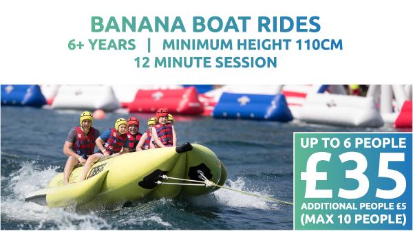 Banana Boat Rides Price