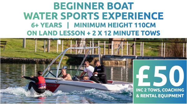 Beginner Boat Water Sports Experience Price
