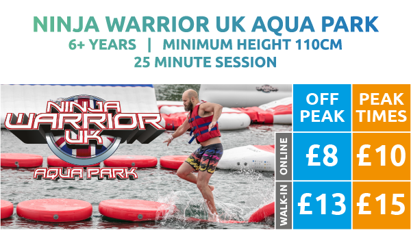 Ninja Warrior UK Aqua Park