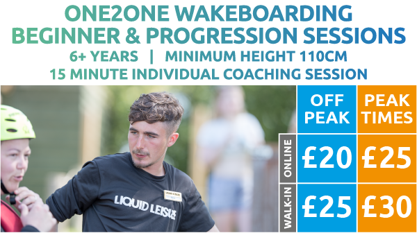ONE2ONE Wakeboarding Sessions Price