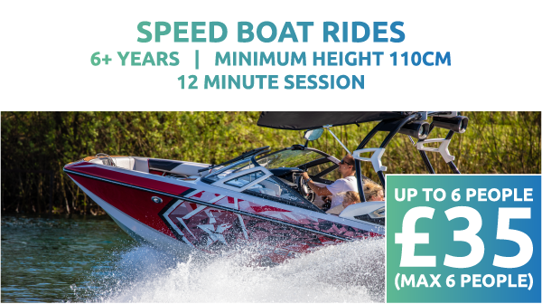 Speed Boat Rides Price