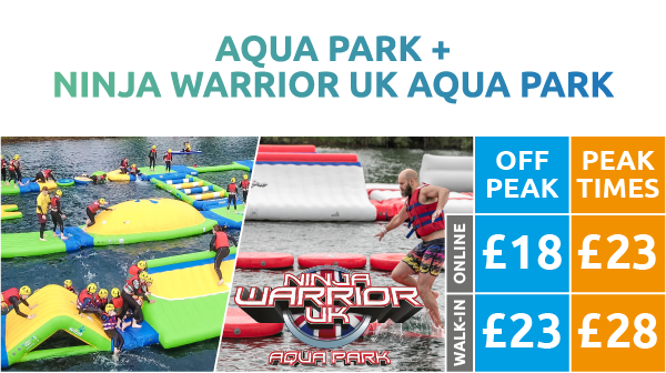 Aqua Park + Ninja Warrior UK Aqua Park Package