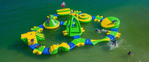 The Junior Aqua Park at Liquid Leisure Windsor