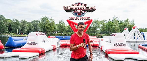 Ninja Warrior UK Aqua Park at Liquid Leisure Windsor