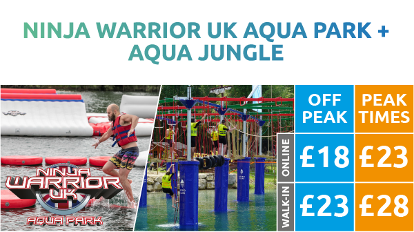 Ninja Warrior UK Aqua Park + Aqua Jungle