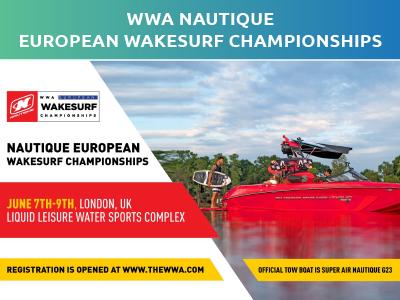 WWA European Wakesurf Championships 2019 Homepage